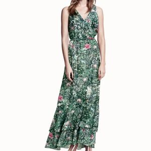 H&M Conscious Collection Jungle-Print Maxi Dress